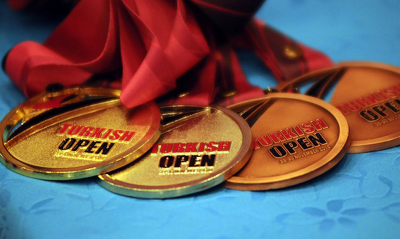 1st Turkish Open Taekwondo Tournament Medals