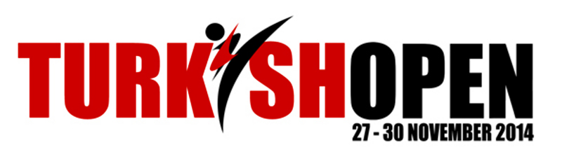 1st Turkish Open Taekwondo Tournament LOGO