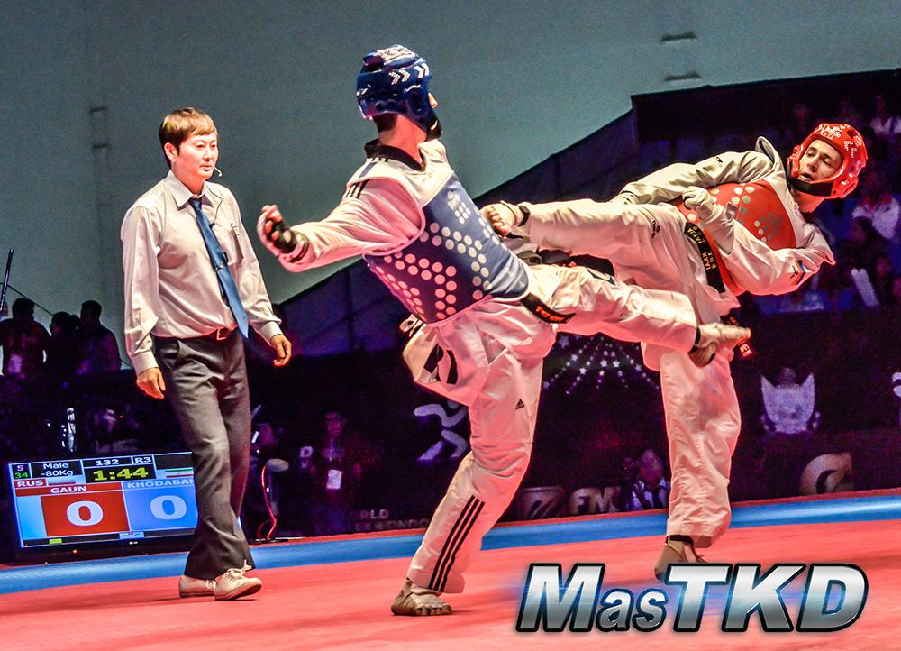 GP Final, Combate final M-80 Kg