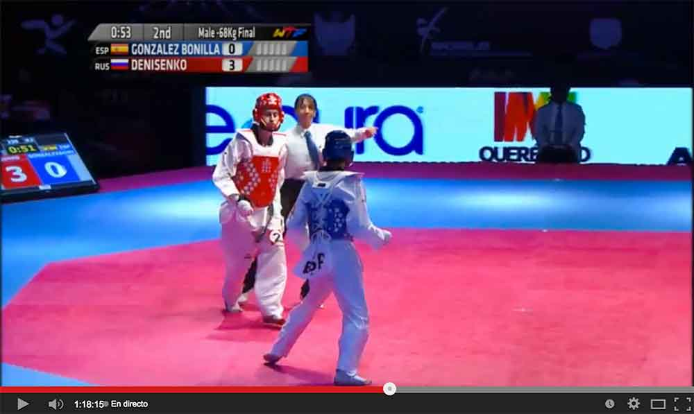 Retransmision del Grand Prix Final de Taekwondo