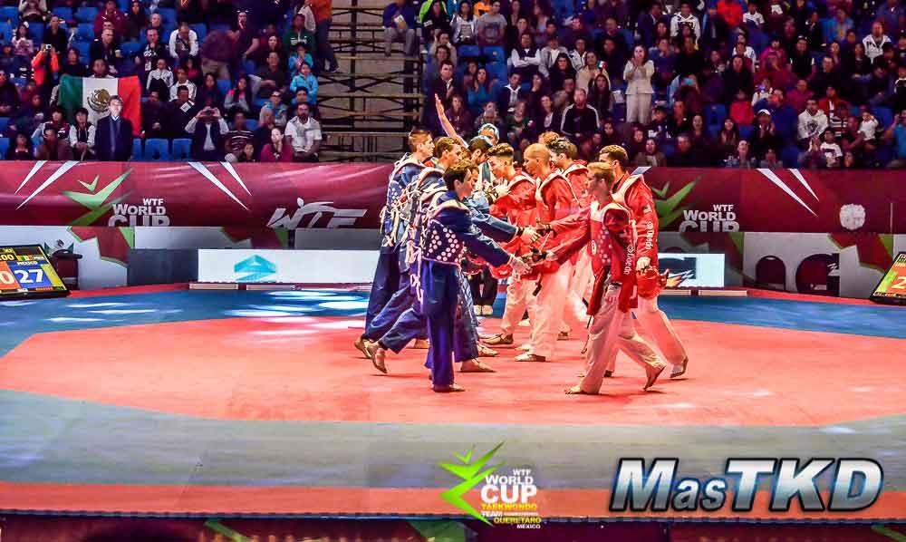Copa del Mundo Por Equipos de Taekwondo 2014