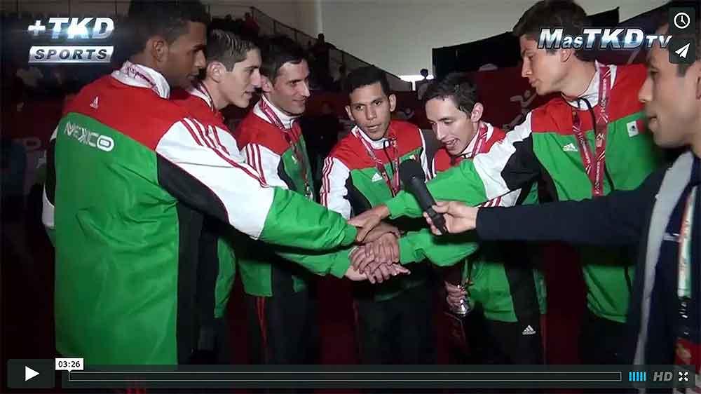 Entrevista al equipo mexicano Subcampeon de la Copa del Mundo de Taekwondo