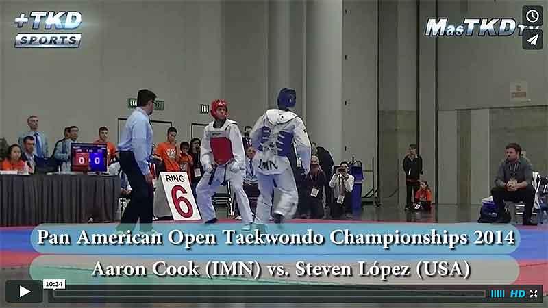 Aaron Cook (IMN) vs. Steven López (USA)