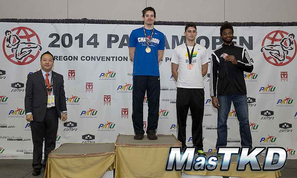 Podio, Welter Masculino, Panam Open, Portland 2014
