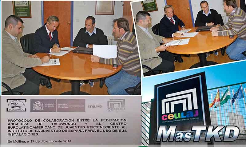 Convenio entre el Centro Eurolatinoamericano de la Juventud y Federacion Andaluza de Taekwondo