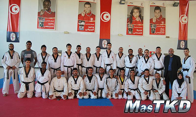 Jesus Tortosa en Seminario, entrenadores de Tunez