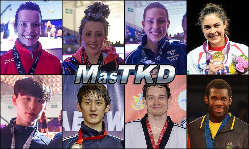 Números 1 – WTF World Olympic Ranking – Taekwondo WTF – Enero 2015.