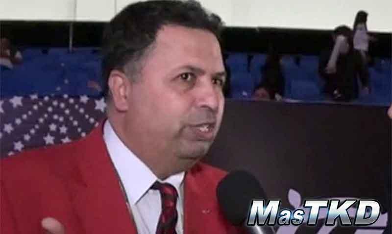 Jefe de Árbitros de la Federación Mundial de Taekwondo: Chakir Chelbat