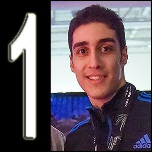#1 Enero 2015,  Mehdi Khodabakhshi  (IRI)