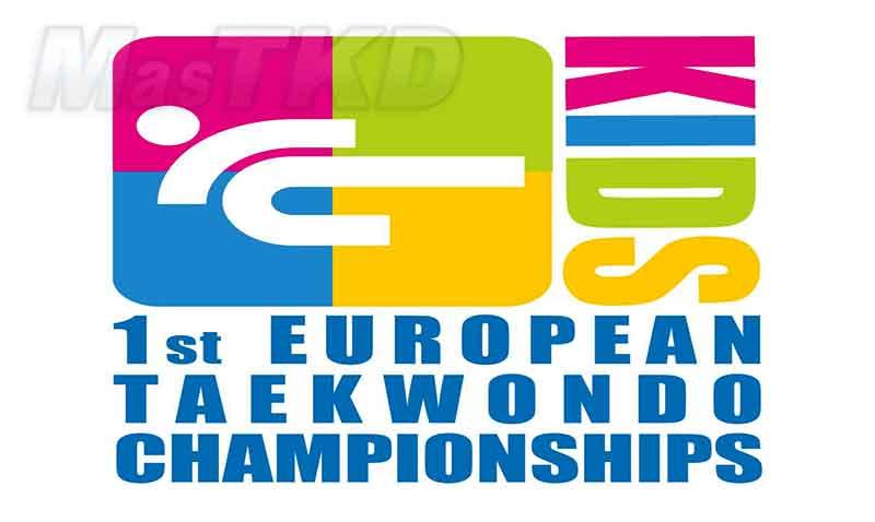 Logo del Primer europeo infantil de Taekwondo