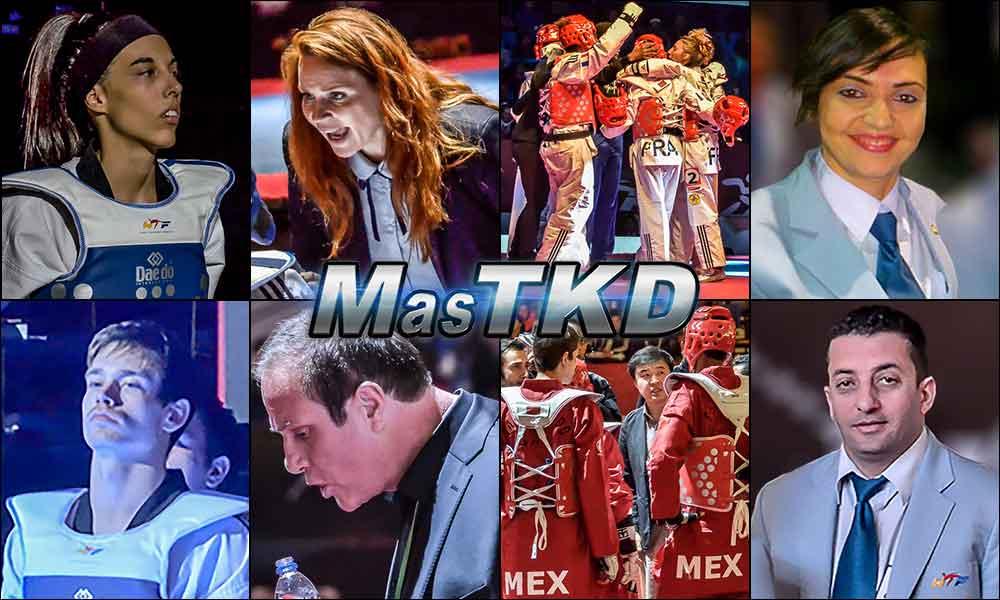 Ganadores de los Premios MasTKD 2014