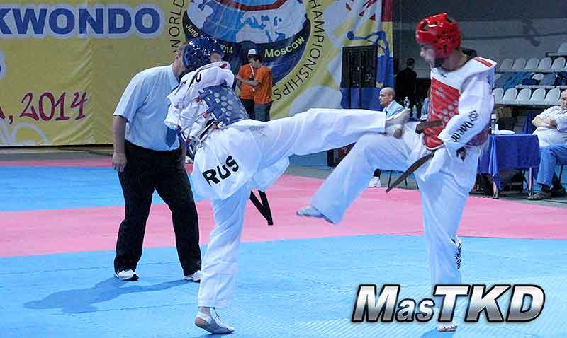 Mundial de Para-Taekwondo, Moscu 2014