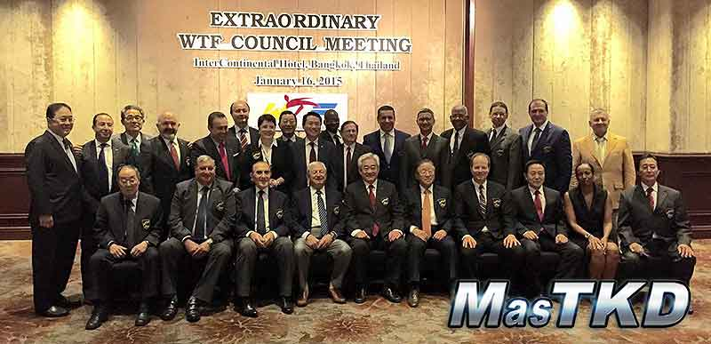 Reunión Extraordinaria del Concejo Ejecutivo de la WTF del 16 de Enero de 2015