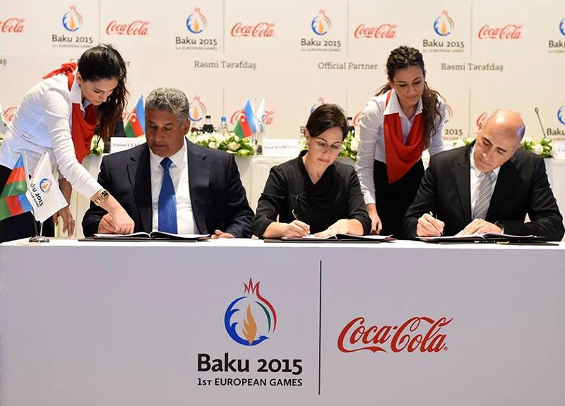 Coca Cola en Juegos Europeos 2015