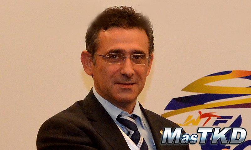 El titular de la Unión Europea de Taekwondo, Sakis Pragalos