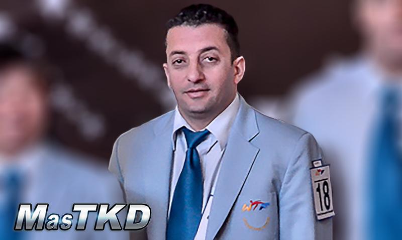 Mejor Arbitro Masculino  Maher Magableh (AUS)