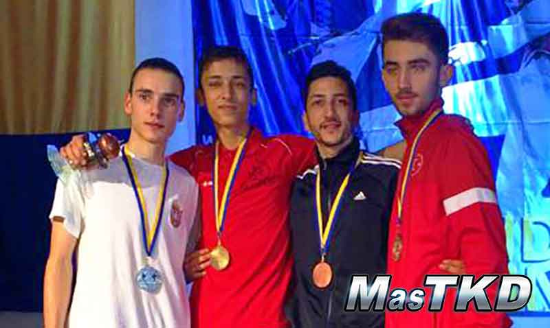 Podio en el Bosnia Open 2015