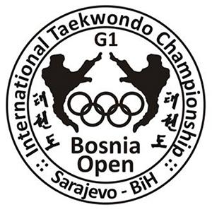 Logo del Bosnia Open 2015