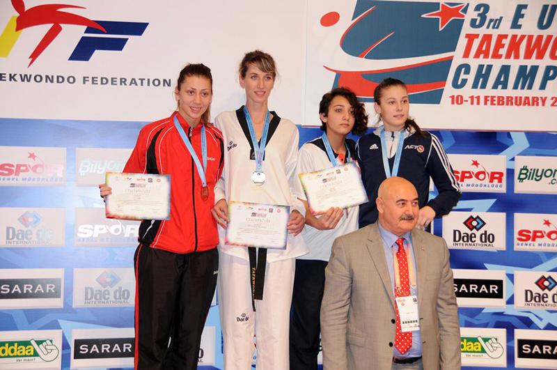 Podio F-67 del 3rd European Taekwondo Club Championships