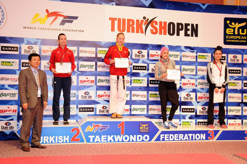 Podio F-53 del Turkish Open  2015