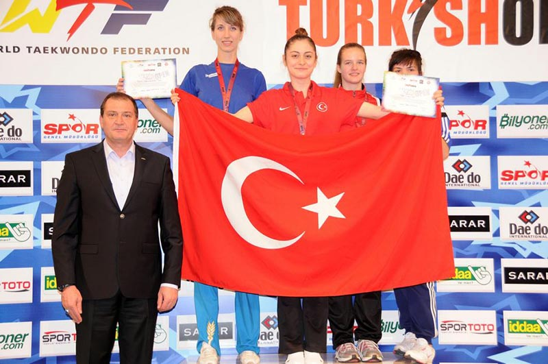 Podio F-67 del Turkish Open  2015