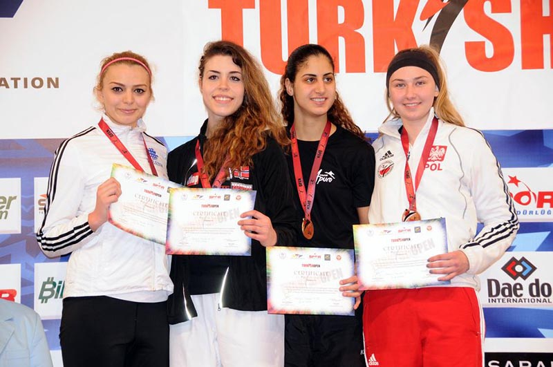 Podio F-73 del Turkish Open  2015