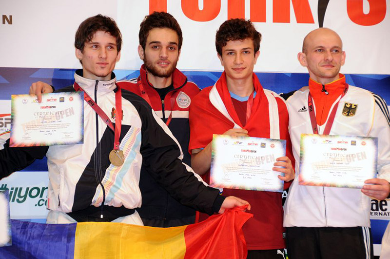 Podio M-54 del Turkish Open  2015