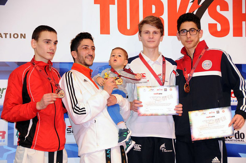 Podio M-58 del Turkish Open  2015