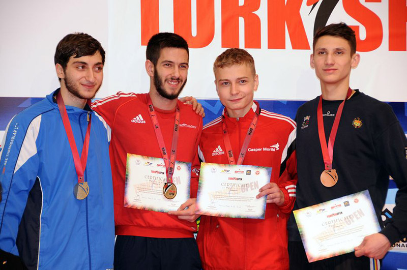 Podio M-63 del Turkish Open  2015