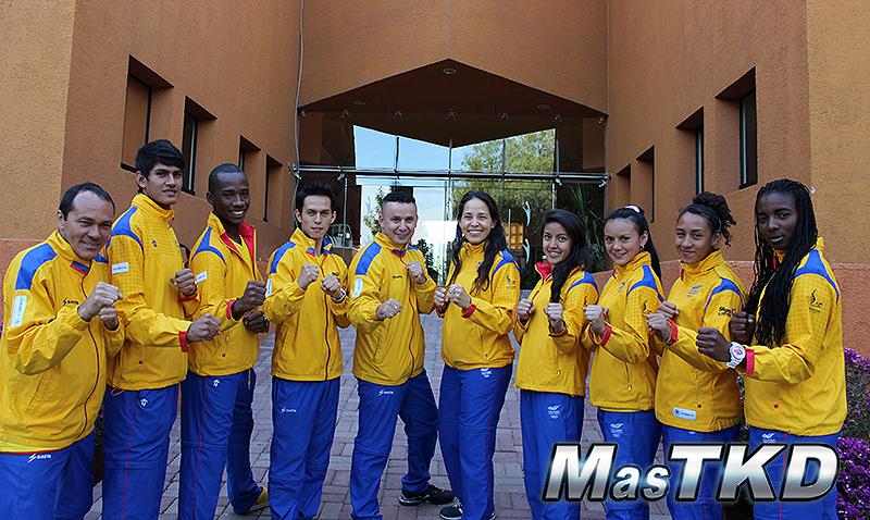 Colombia_Taekwondo_Team