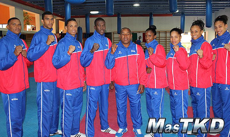 RepublicaDominicana_Taekwondo_Team