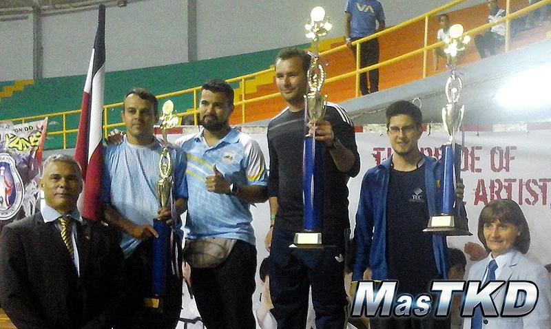 podioGral_Nacional-CRC_Taekwondo