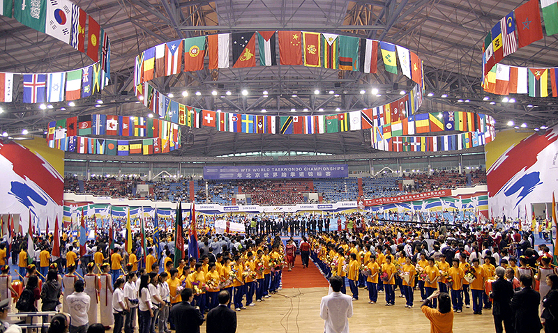 The_2007_Beijing_WTF_World_Taekwondo_Championships_closing_