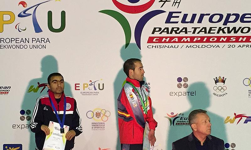 Podio_Europeo_Para-Taekwondo_