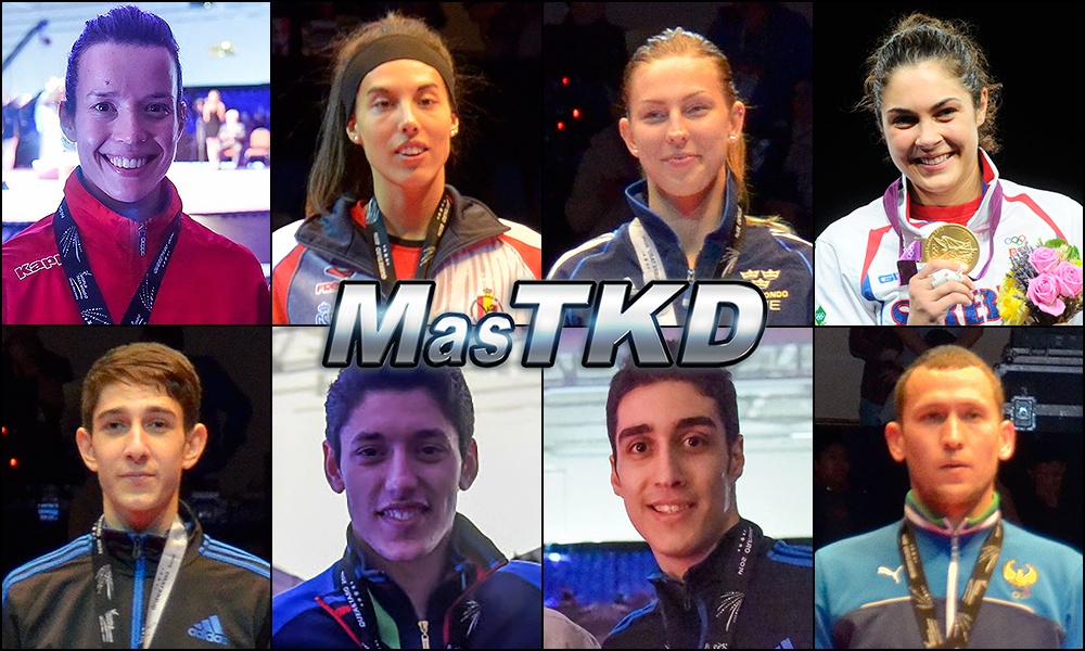 Números 1 – WTF World Olympic Ranking – Taekwondo WTF – Mayo 2015.