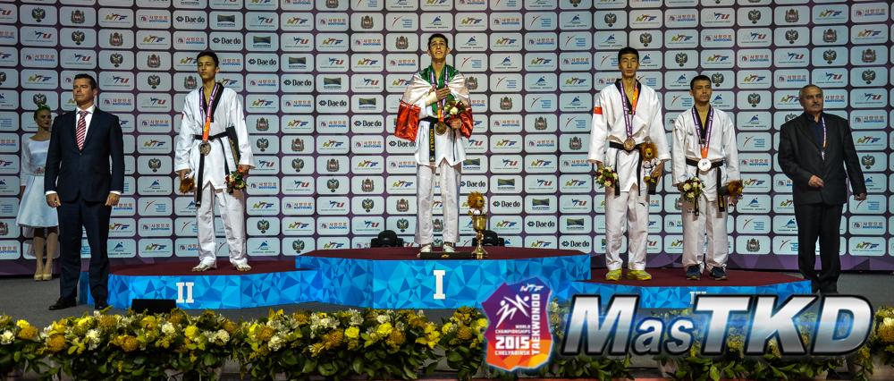 Podio_M-58_Mundial-Taekwondo