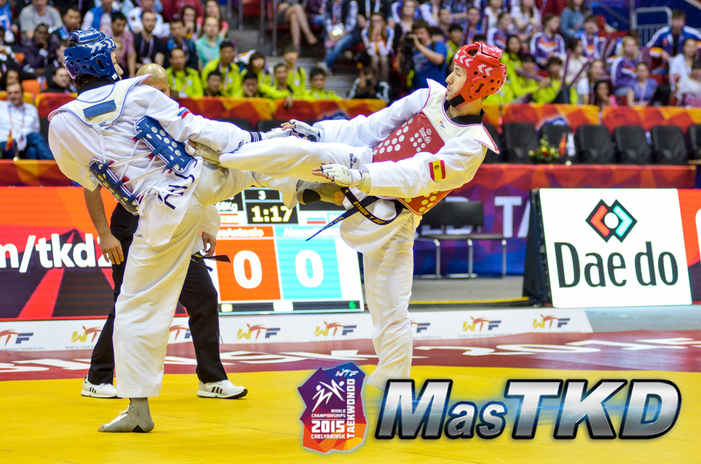 Mundial-Taekwondo_Dia4_Semifinal MASCULINO -68 Kg
