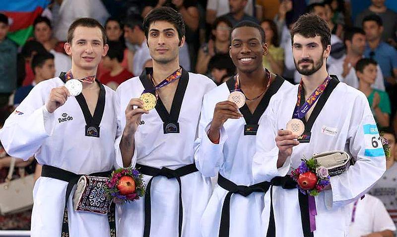 Baku2015_PodioM-80_ Taekwondo