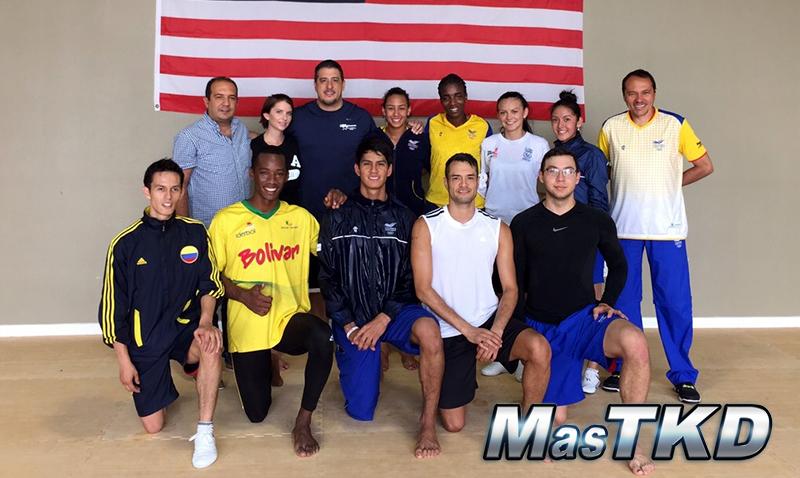 USA-COL_Entrenamiento_Taekwondo