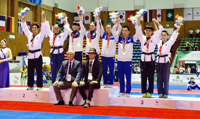 Universiade poomsae 2015
