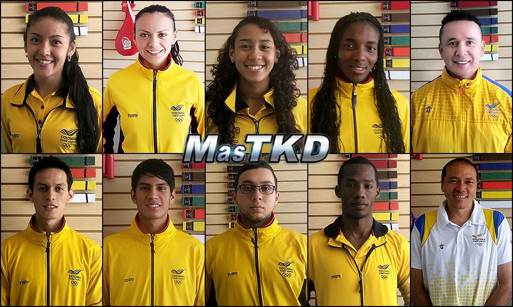 Colombia Team Torono 2015