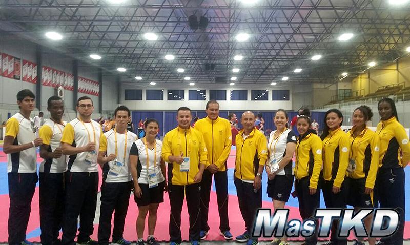Colombia-Taekwondo-Team