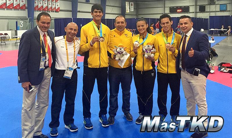 Colombia-Taekwondo-Team_