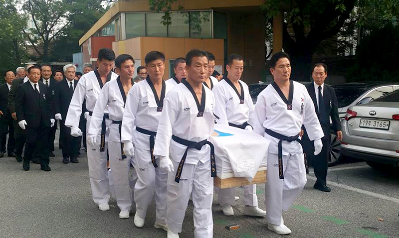 Funeral_Grand-Master_Lee-Chong-Woo