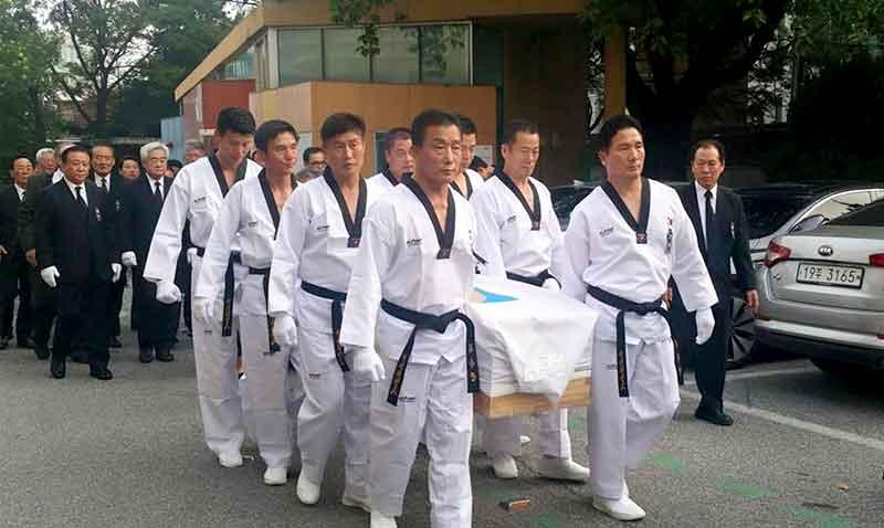 Funeral de honor para gran maestro coreano lee chong woo for Gimnasio leganes