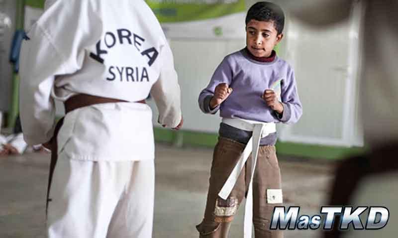 Taekwondo_Zaatari_refugiados-Siria