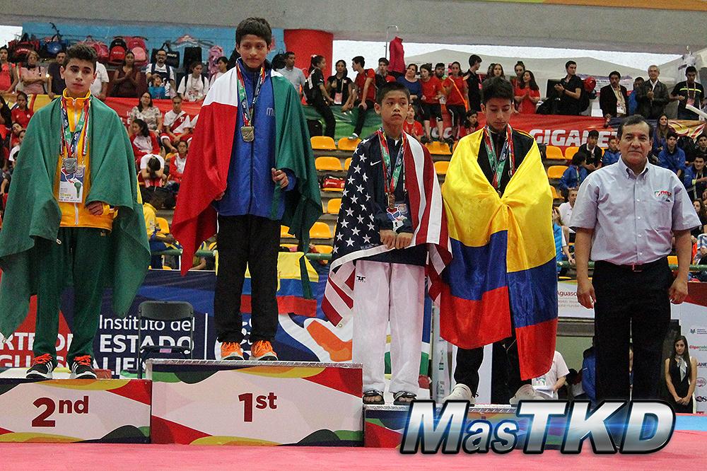 Podio_Panamericano-Cadete_M-45