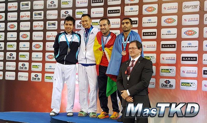 Podio_Para-Taekwondo_Mundial-Samsun-2015