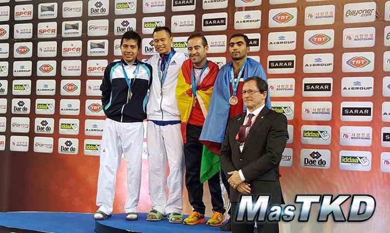 Podio_Para-Taekwondo_Mundial-Samsun-2015_home