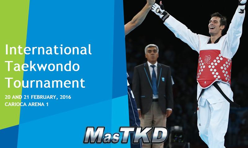 test olimpico taekwondo
